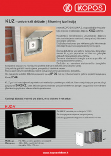 Elektros instaliacija į termoizoliaciją