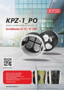 KPZ-1_PO Gaisrui atspari instaliacinė dėžutė