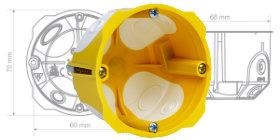 KPL 64-45/LD - krabice s membránovými vstupy