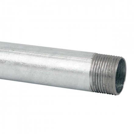 6029 N XX - ocelová trubka závitová bez povrchové úpravy (ČSN)