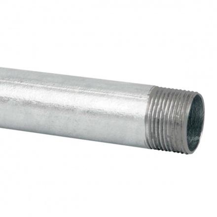 6036 N XX - ocelová trubka závitová bez povrchové úpravy (ČSN)