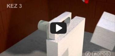 Embedded thumbnail for Dėžutės į termoizoliaciją KEZ-3 montavimo instrukcija