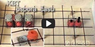 Embedded thumbnail for Dėžutės į betoną KBT montavimo instrukcija
