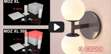Embedded thumbnail for Dėžutės į termoizoliaciją MDZ XL montavimo instrukcija