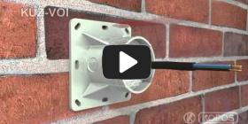 Embedded thumbnail for Universalios dėžutės į termoizoliaciją KUZ-VOI su dangčiu montavimo instrukcija