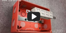 Embedded thumbnail for Gaisrui atsparios dėžutės KSK 175 PO montavimo instrukcija