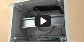 Embedded thumbnail for Universalios dėžutės KUZ-VO su dangčiu montavimo instrukcija