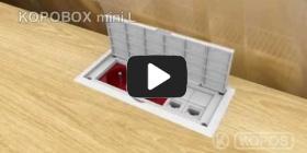 Embedded thumbnail for Daugiafunkcinės dėžutės KOPOBOX mini L montavimo instrukcija